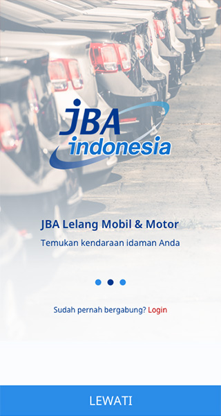 JBA Indonesia オークション入札Androidアプリ